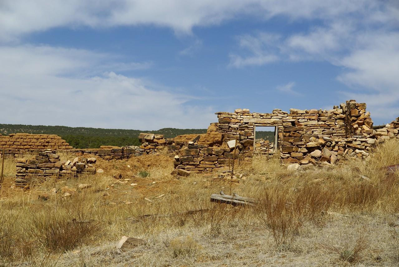 Loma Parda, NM ruins