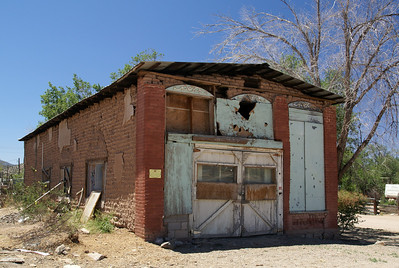 This adobe building was once the pharmacy.