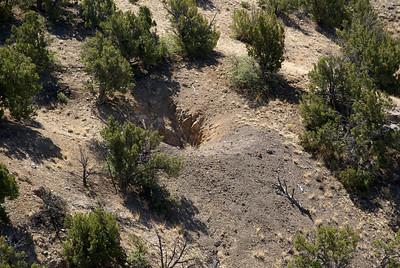 Unidentified mine