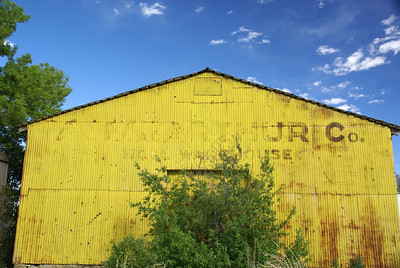 A. McArthur Co. Wool Warehouse Wagon Mound, NM