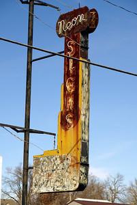 Neon sign advertising neon signs Falls City, NE